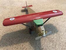 "Vintage Outstanding 1930's Turner Pressed Steel Monocoupe Airplane 24"" Wingspan"