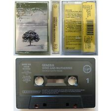 GENESIS Wind And Wuthering (Cassette Tape) Virgin Ex Condition