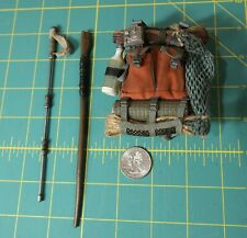 Hot Toys 1/6 Luke Skywalker Backpack, Lightning Rod, ..... The Last Jedi MMS458