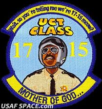 USAF CYBERSPACE TRAINING CLASS 2017-15 - MOTHER OF GOD - Pensacola NAS, FL PATCH