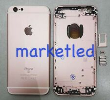 BACK COVER SCOCCA POSTERIORE PER APPLE IPHONE 6S 4.7 ROSO AAA+