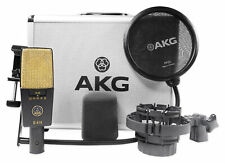 AKG C414 XLII Multi-Pattern Studio Reference Condenser Microphone Recording Mic