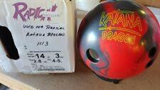USED 14LB Radical KATANA DRAGON Bowling Ball 1113