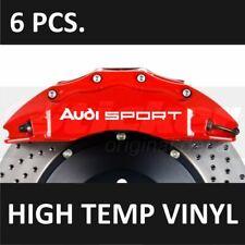 AUDI Sport Premium Brake Caliper Decals Stickers Emblem Logo TT RS S3 S4 S5 Q5 R