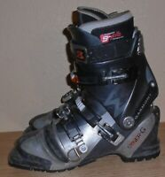 Garmont Syner-G Men's  telemark ski boots size 27 with G-Fit  liners