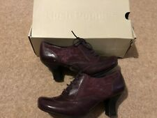 Hush Puppies deep Purple Shoes Size 5 BN new In Box Heels