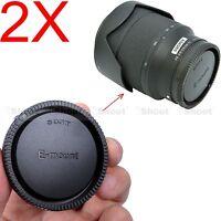 2x Rück Objektiv Deckel Rear Lens Cap für Sony Micro SLR E FE SEL Mount Lens