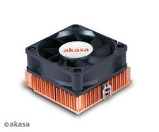 Akasa AK-351-2  Copper Low Profile Cooler AMD / INTEL