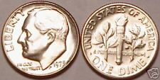 1975-P BRILLIANT UNCIRCULATED ROOSEVELT DIME~FREE SHIP~