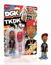 DGK X TKDK Stevie Williams Action Figure Tokidoki Simone Legno Dirty Ghetto Kids