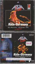 Asia 2CD Live Köln Alter Wartesaal 5th October 1994  Aria Tour