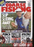 IMPROVE YOUR COARSE FISHING MAGAZINE - December 1998
