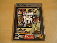 PLAYSTATION 2 GAME - GRAND THEFT AUTO: SAN ANDREAS
