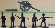 Armies In Plastic 5432 - Royal Horse Artillery 1815 Figures-Wargaming Kit