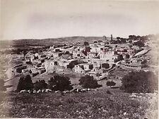 Béthanie Bethany Palestine Photo Albumine Tirage vers 1890 petit format