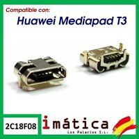CONECTOR DE CARGA PARA HUAWEI MEDIAPAD T3 10 MICRO USB TABLET PUERTO DC TABLET