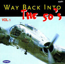 """Way back into the 50's """"VOL. 1"""" Top Oldies! CD 16 TRACKS NUOVO & OVP"""