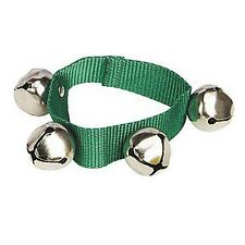 Remo - Lynn Kleiner - Bells Belt *NEW* Children's percussion, green wrist band