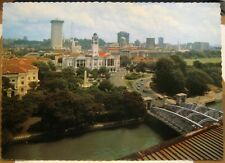 Singapore Overlooking Anderson Bridge and the city - posted 1982