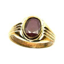 Rashi Ratna Copper Ruby Birthstone ring (Manik) Gemstone