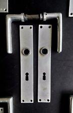 Modernist Door handle Set by Hans POELZIG Bauhaus Design Architectural Salvage