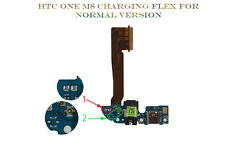 NEW HTC ONE M8 MICRO USB CHARGING PORT DOCK MIC EARPHONE AUDIO JACK FLEX RIBBON