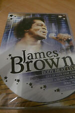 NEW SEALED DVD - JAMES BROWN - BODY HEAT - POST FREE