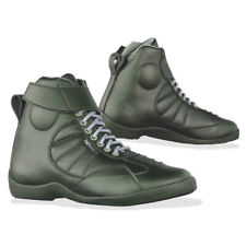 motorcycle boots | 747Moto Freedom black urban city street riding ride all sizes