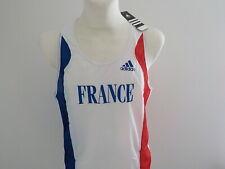 Débardeur Neuf Running fitness équipe de France Olympique d'Athlétisme Maillot .