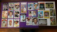 Lot of 23 Old Baseball Cards 1960s 1970s + PSA 8 1987 Topps Cal Ripken Jr #784