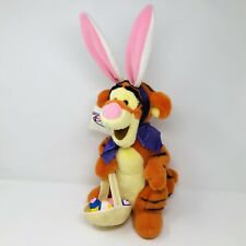 Disney Store EASTER BUNNY TIGGER Plush Winnie Pooh Stuffed Animal Toy