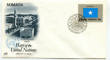 United Nations #411 20c Flag Series, Somalia, ArtCraft, Fdc