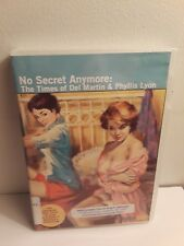 No Secret Anymore: The Times of Del Martin & Phyllis Lyon (DVD) Ex-Library