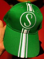 Stingray Hat Schwinn PeaPicker Green w/white Baseball cap with metal tag
