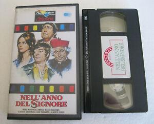 NELL'ANNO DEL SIGNORE (1969) VHS ORIGINALE NUOVA, BOX USATO 📼