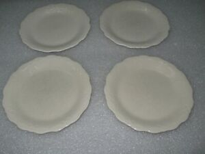 """Set of 4 The Pioneer Woman Cowgirl Lace Ivory 8 1/2"""" Salad Plate Plates"""