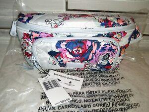 Vera Bradley Ultralight RFID Belt Bag Purse Exuberant Floral MSRP $99 Fanny Pack