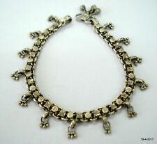 anklet feet bracelet ankle chain vintage antique ethnic tribal old silver