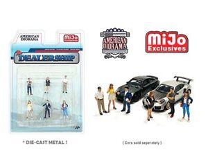 American Diorama 1:64 MiJo Exclusives Figures Dealership