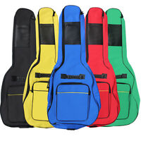 FULL SIZE PADDED PROTECTIVE CLASSICAL ACOUSTIC GUITAR BACK BAG CARRY CASE HOLDER