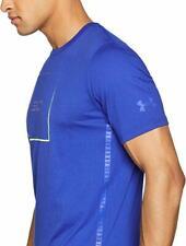 Under Armour Men's SC30 Box Logo Short Sleeve T-Shirt (Large)  Royal  BNWT.