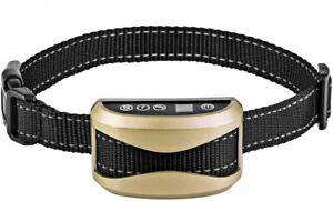 Collier Anti Aboiement Chien Ajustable Électrique Intelligent Sans fil Dressage