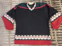 Arizona Coyotes CCM Black NHL Hockey Jersey MED M adult