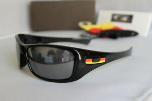 New Oakley Hijinx Germany Country Flag Polished Black Iridium Sunglasses 24-212