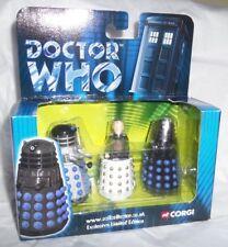 Dr/Doctor Who - Davros & Two Daleks Box Set BY Corgi - New & Boxed