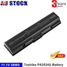 Laptop Battery for Toshiba PA3534U-1BRS PA3534U-1BAS PABAS098 SATELLITE A215 CLG