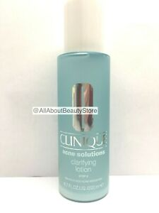 Clinique Acne Solutions Clarifying Lotion 200ml/6.7oz Brand New Anti Blemish