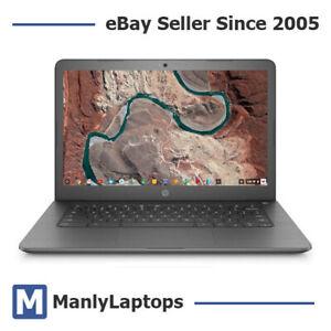 Like New HP Chromebook 14 G5 Notebook 3QN46PA Celeron N3450 4GB Ram | 1YR WTY