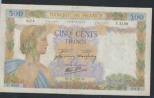 Frankrijk Pick-Aantal: 95b (1941) gebruikt (III) 1941 500 FF (7350039