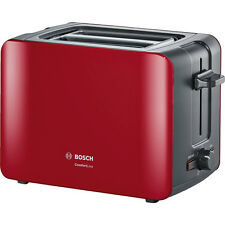 Bosch TAT6A114 Toaster Anthrazit rot